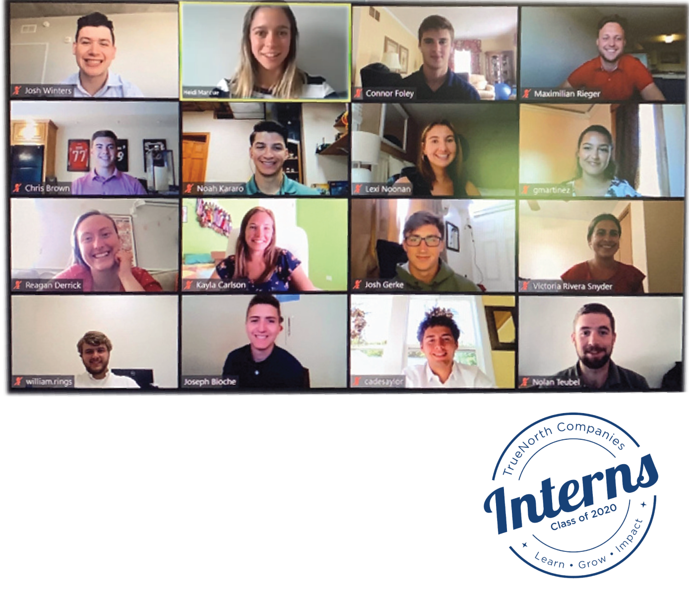 Interns of TrueNorth 2019