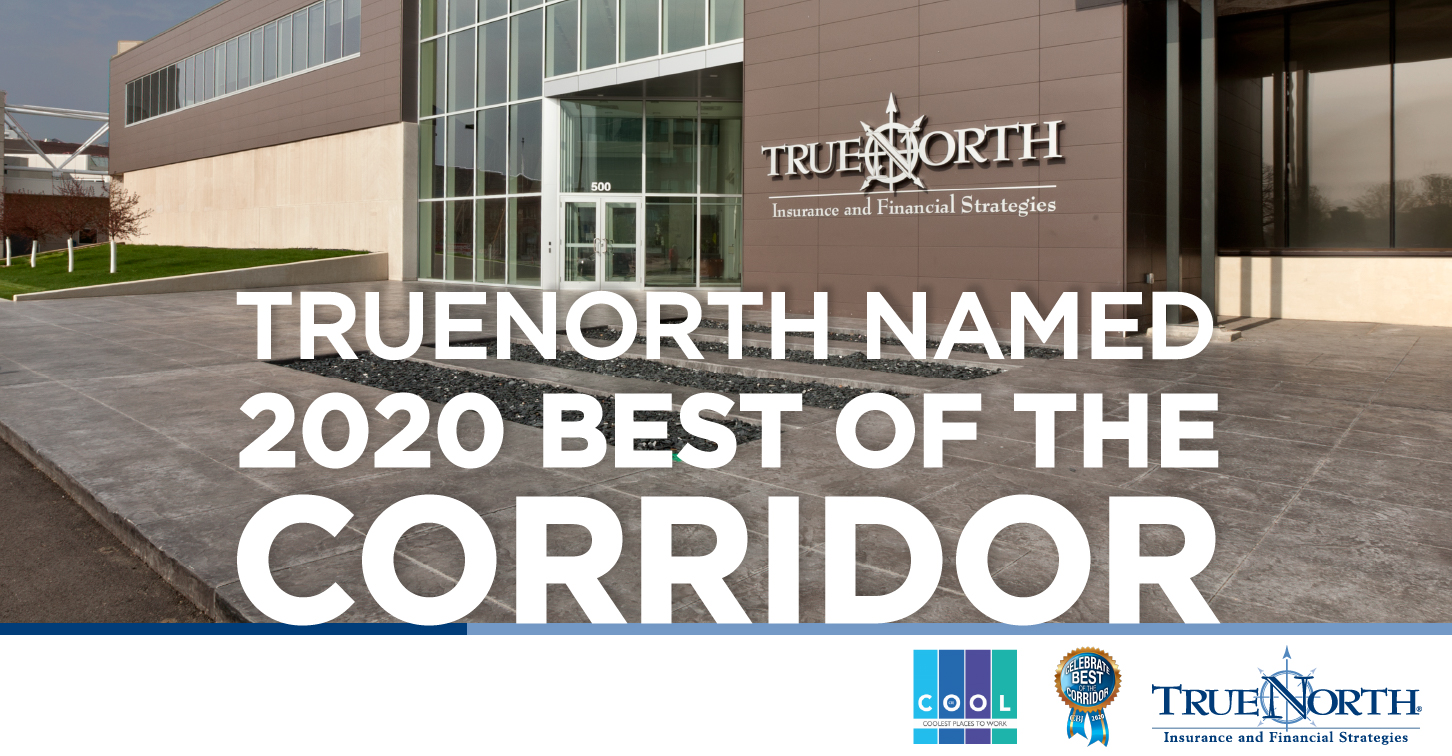 TrueNorth Named 2020 Best of the Corridor