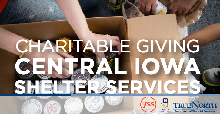 Charitable Giving: Central Iowa Shelters