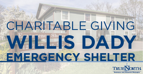 5177cf602 Charitable Giving: Willis Dady Prevention & Shelter