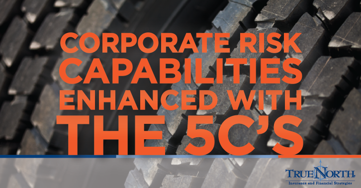 Corporate Risk Capabilities Enhanced with The 5C's