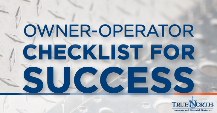 Owner Operator Checklist for Success