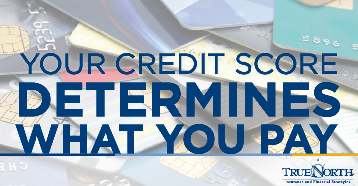 Your Credit Score Determines What You Pay